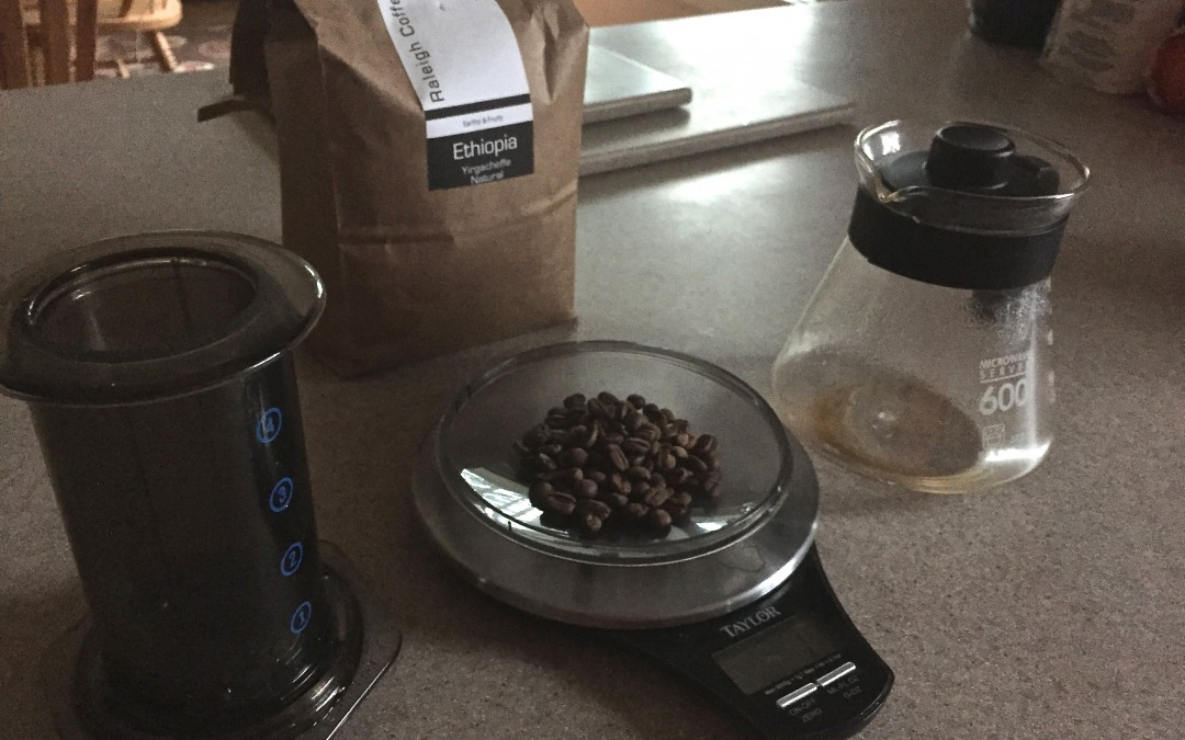 Quick look at the AeroPress